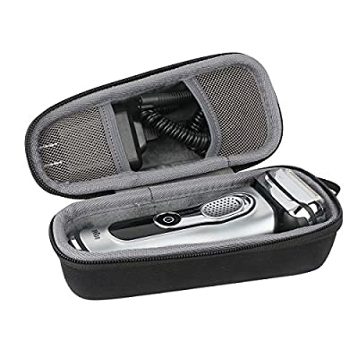 co2CREA Storage Travel Organizer Hard Case for Braun Series 5 7 9 790cc-4 7898cc 799cc 720s-4 9290cc 9090cc 9075cc 9095CC 9040s 5040 5050cc 5030s Men's Electric Foil Shaver Razor Trimmer fits Charger Adapter