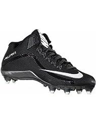 check out 3408a f6dd2 Nike Alpha Pro 2 3 4 D Noir Gris Blanc pour Homme Football