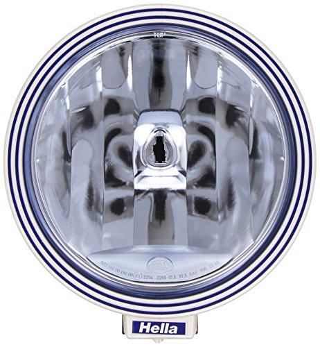 HELLA 1F8 006 800-331 Fernscheinwerfer Rallye 3000 Blue, rund, Anbau links/rechts hängend/stehend, Halogen, 12/24 V