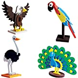 #4: Imagimake Worldwide:Birds Educational Toy and Construction Set, Multi Color
