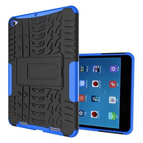 Xiaomi mi Pad 2 7.9'' Case,xiaomi mi Pad 3 Hülle,XITODA Tough Rugged ShockProof Hybrid Kickstand Protection Back Cover Case mit Stand für Xiaomi mi Pad 2 & Xiaomi mi Pad 7,9 Zoll Tablet-PC - Dunkelblau