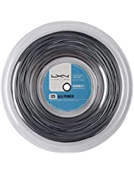 Luxilon Tennissaite, Alu Power 125, 220 Meter Rolle, Silber, 1,25 mm, Unisex, WRZ990100SI