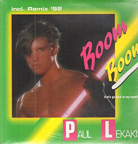 Boom Boom (Let's Go Back To My Room) Remix '92 [Vinyl Single 12'']