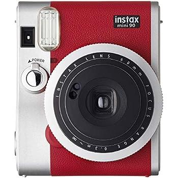Fujifilm INSTAX Mini 90 Camera Red in EX D
