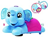 Akhand Cute Elephant Toy with Lights, Music and Bump and Go Action for Kids