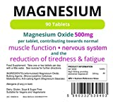Magnesium Tabletten (90) (MgO 500mg) - 3