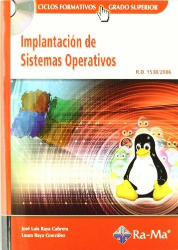 Implantación de Sistemas Operativos (GRADO SUP.). por José Luis Raya Cabrera