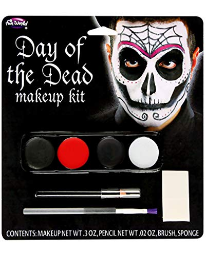 Herren Schminkset Day of The Dead