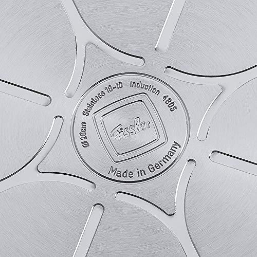 Fissler Spargeltopf original-profi collection – hoher Topf aus robustem, hochwertigem Edelstahl – induktionsgeeignet – 084-103-16-002/0 – Ø 16 cm – 4,6 L