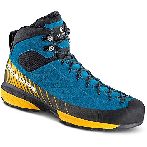 Scarpa mescalito mid GTX Blue/ORANGE 48 Scarpa All-mountain-boot