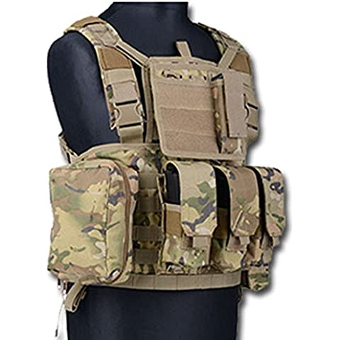SAS GILET TATTICO CHEST RIG RRV SOFTAIR (MULTICAM)