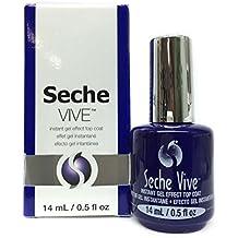 Seche Vive - Instant Gel Effect Top Coat - 14ml / 0.5oz