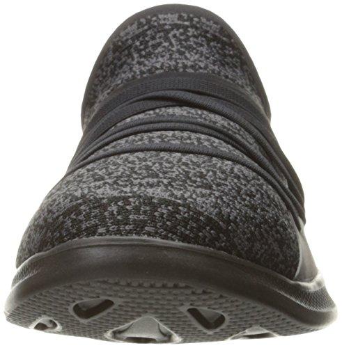 Skechers Go Step Lite-Redefine, Allenatori Donna Nero (Black)