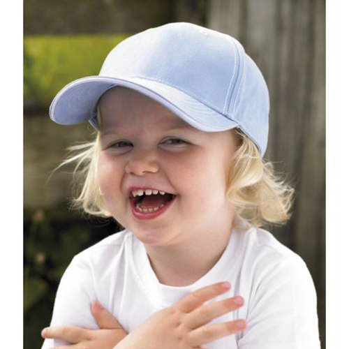 Larkwood Unisex Toddler Cotton Baseball Cap Hat Blue,Navy,Pink,White Navy