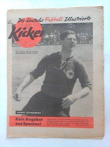 l-Illustrierte - Jahrgang 1959; Nr. 6: Horst Szymaniak. Kein Angebot aus Spanien! ()