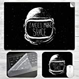 I Need More Space Astronaut Laptop Skin ...