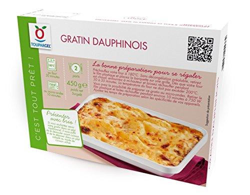 TOUPARGEL - Gratin dauphinois - 450 g - Surgelé
