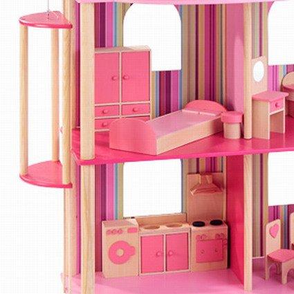 riesige Traumvilla für Ankleidepuppen incl. 22 Möbeln von howa 70102 - 2