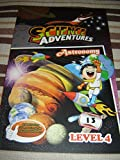 Astronomy - Science Adventures Level 4 Issue 13 / Full Color Science Comic Magazine for Children / Printed in Singapore / English Corner of SA and Young Readers Express / Engaging Reading for Children Age 11-14 / Self Study