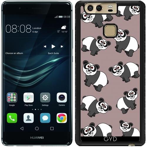 custodia-in-silicone-per-huawei-p9-un-panda-sorridente-by-zorg