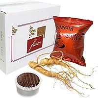 Cialde Capsule CAFFE FIORE Aromatizzate GINSENG Compatibili LAVAZZA Espresso Point - Confezione da 50 Capsule - Lavazza Espresso Point Capsula Macchina