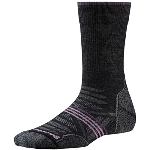 Smartwool Damen Women's Phd Outdoor Light Crew Socke, Charcoal, M (Socken Light)