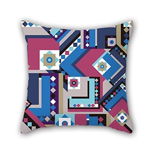 Der Muster Film Beweise (Kissenbezüge von Geometrie für Ihn Bench Kids Paare Wohnzimmer Boy Friend 40,6x 40,6cm/40von 40cm (2Seiten))