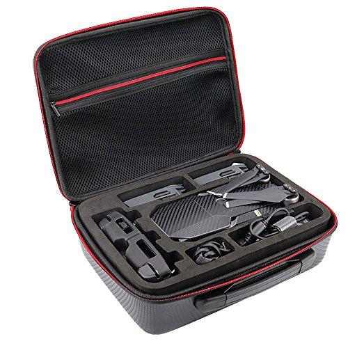 Mavic pro Zubehör, 12shage Tasche Case Protection für Drohne DJI Mavic Pro Drone Platinum und Fernbedienung (Landeplatz 11)