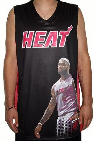 Lebron James Miami Heat Majestic NBA