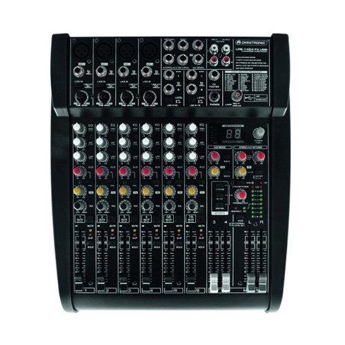 Omnitronic 10040232 LRS-1424FX Live-Recording-Mixer (USB)