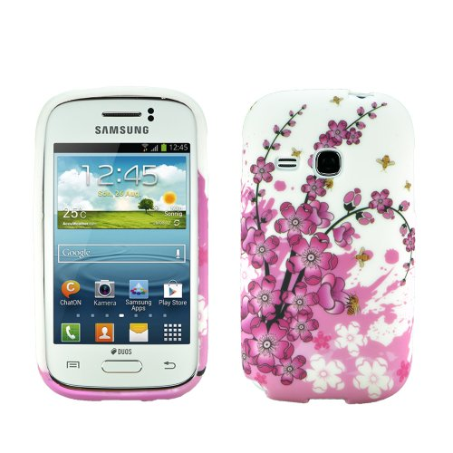 Image of zkiosk Star 'Design silicone case cover for Samsung Galaxy Young GT-S6310N
