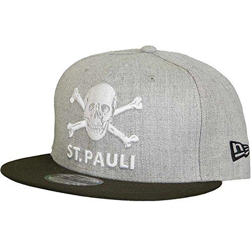 FC. St. Pauli New Era 9Fifty Totenkopf Cap (S/M, Grau/Braun)