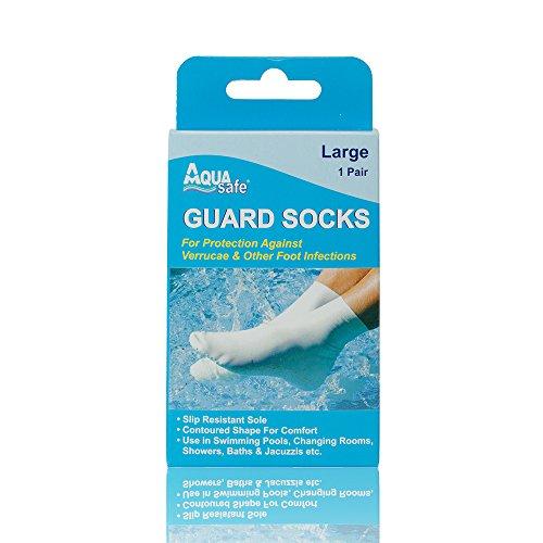 AquaSafe Verruca Guard Socks for...
