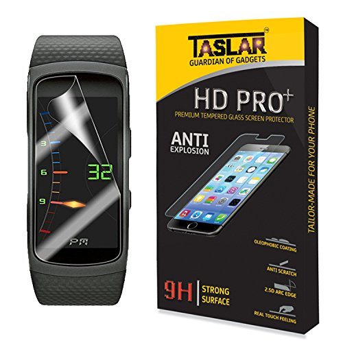 TaslarTM-Premium-Front-Screen-Scratch-Guard-Protector-for-Samsung-Gear-Fit-2-Transparent