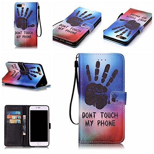 C-Super Mall-UK Apple iPhone 5 / 5S / SE hülle, Qualität PU-Leder Brieftasche Stehen Flip hülle für Apple iPhone 5 / 5S / SE hand