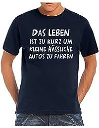 Herren T-Shirt Das Leben ist zu kurz...