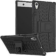 Dooki, Sony Xperia XA1 Ultra Caja, Dual Capa Rugged Híbrido resistente a los golpes duro caso resistente con soporte para Sony Xperia XA1 Ultra 6 pulgadas (NO para Sony Xperia XA1 5 pulgadas)