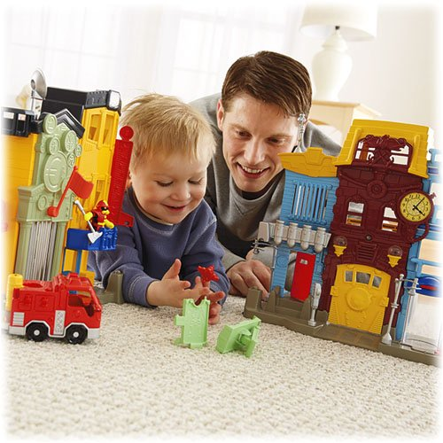 Imaginext Rescue City Center Children, Kids, Game, Child, Play