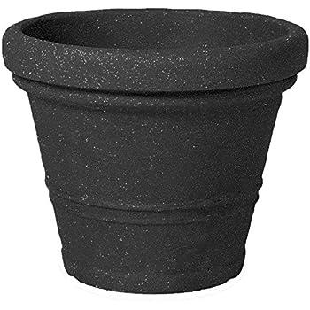 floralo blumentopf pflanztopf claudia durchmesser 60 cm schwarz granit 60x60x48 cm 68 5 l. Black Bedroom Furniture Sets. Home Design Ideas