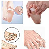 PEDIMENDTM Silicone Gel Toe Straightener (2PAIR - 4PCS) | Toe Separators For Hammer Toes | Claw Toe Corrector | Reduces Toe & Foot Discomfort | For Men & Women | Foot Care