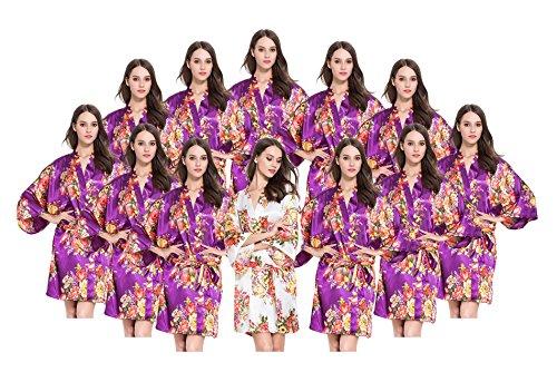 Fete Fabulous - Robe de chambre - Femme Prune