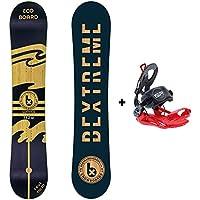 Bextreme Snowboard Waves + Fijaciones SP (157cm)
