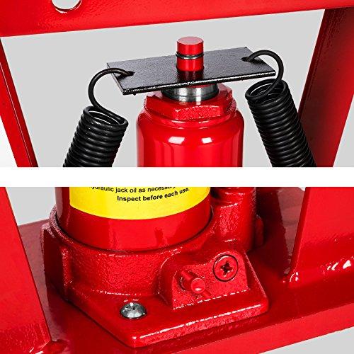 TecTake Rohrbiegemaschine Rohrbieger Biegemaschine Rohrbiegegerät hydraulisch 12 Ton. inkl. 6 Druckstücke 43 kg -