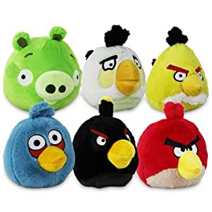 angry bird pl schtier 13cm sortiert spielzeug. Black Bedroom Furniture Sets. Home Design Ideas