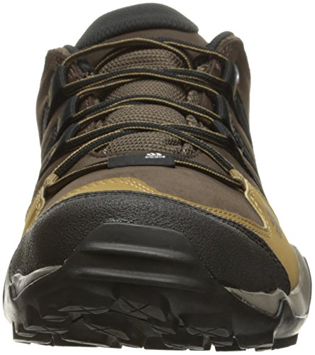 Adidas Outdoor Sottobosco pelle escursionismo scarpe, nero / nero / granito, 7 M Us Brown/Black/Craft Khaki