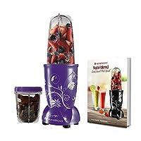 Wonderchef 400 Watt Nutri-Blend Juicer Mixer Grinder (Purple) With Recipe Booklet