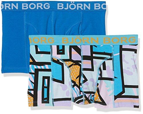 bjorn-borg-2p-short-shorts-bb-multicolour-boxer-para-hombre-blue-aquarius-xx-large
