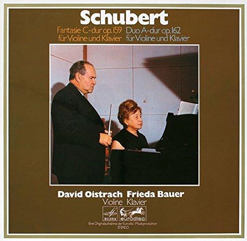 Fantasie C-Dur Op.159 Für Violine Und Klavier / Duo A-Dur Op.162 Für Violine Und Klavier [Vinyl LP]