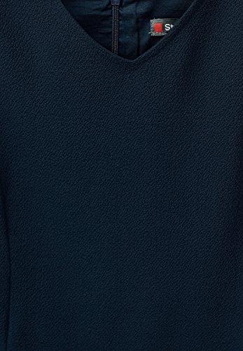 Street One -  Vestito  - linea ad a - Basic - Senza maniche  - Donna Blu (Night blu)