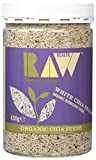 Raw Health Organic Black Chia Seeds 450 g (Pack of 6)